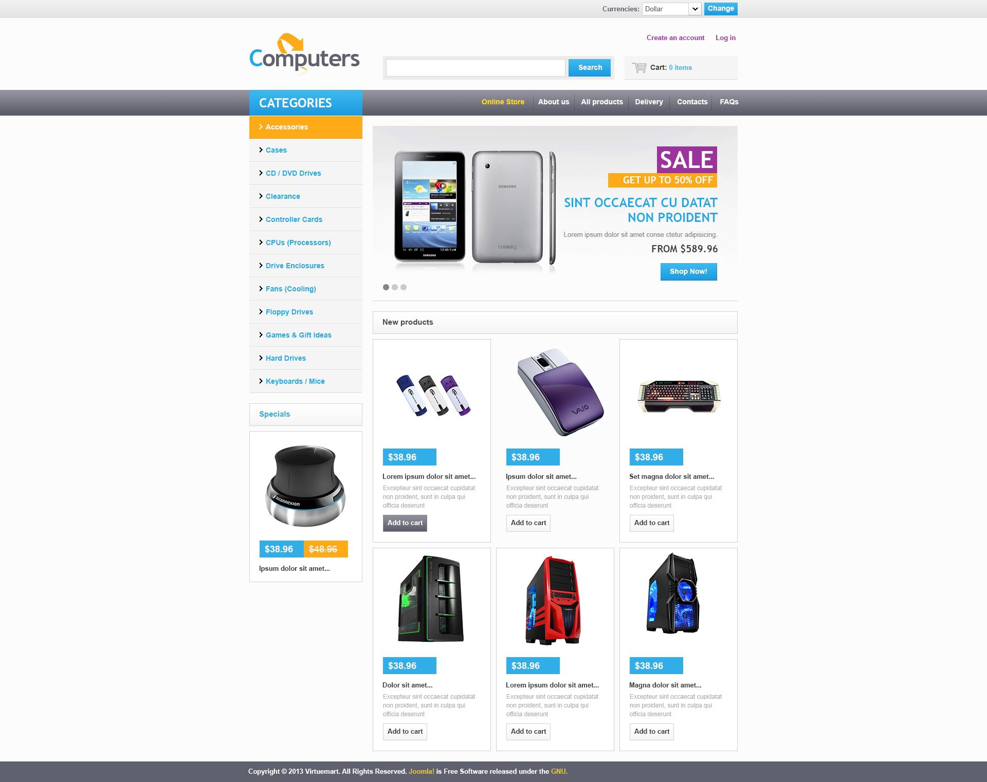 Как сделать интернет магазин virtuemart простая программа для создания сайта бесплатно